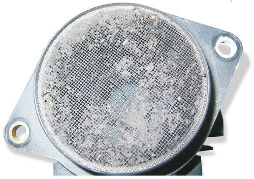 Сенсоры воздушных масс - неисправности, повреждения и проверка