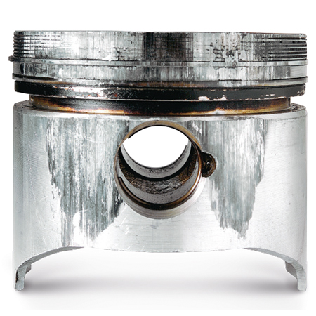 Piston damage and causes
